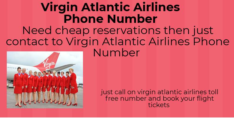 Virgin Atlantic Airlines Phone Number | virgin atlantic airlines