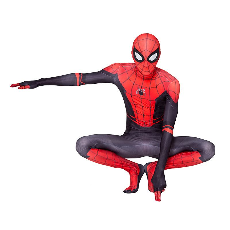 Spider-Man Far From Home Kids Boys Spiderman Zentai Child Costume Cosplay Suit