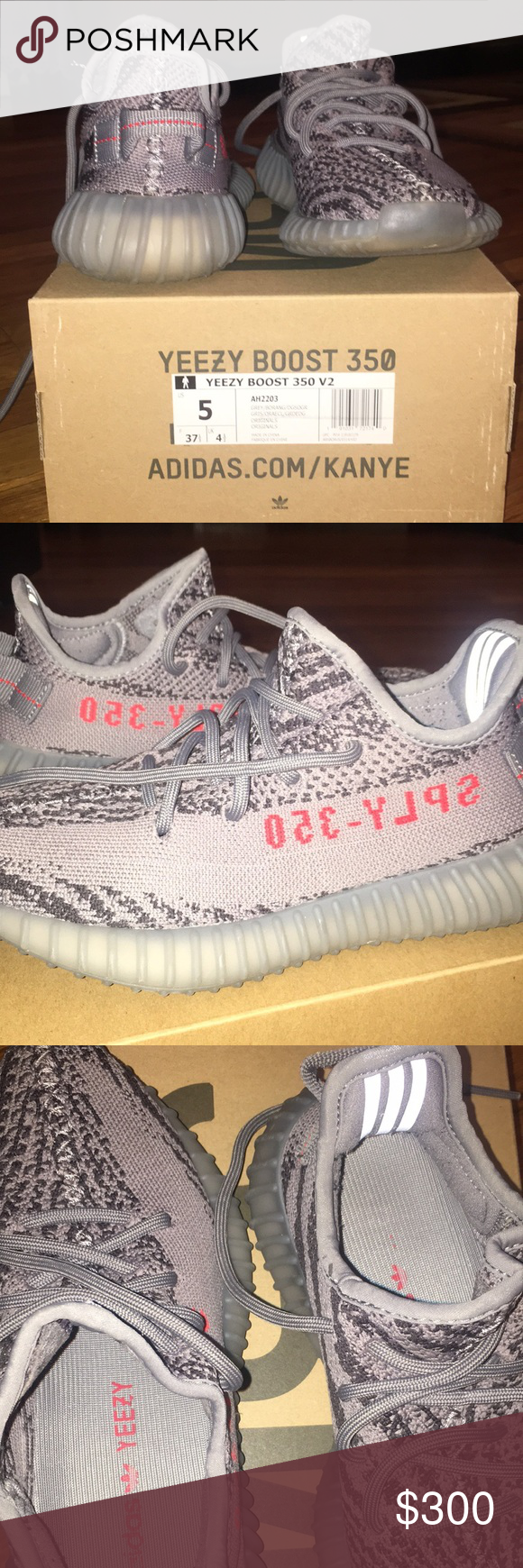 26661cdcddc Yeezy boost 350. V2 Beluga Used Yeezy 350 (will be cleaned before shipped  out
