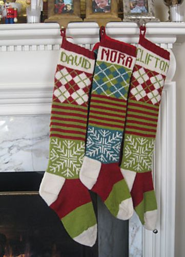 Ravelry: New Ancestral Christmas Stocking pattern by Kay Gardiner and Ann Shayne