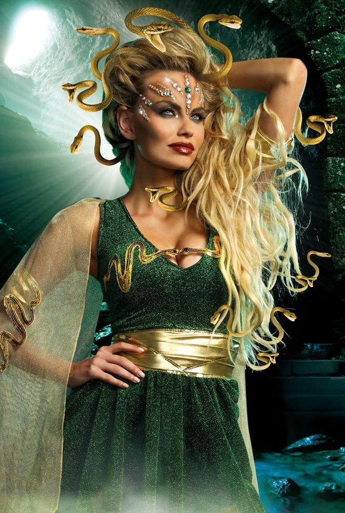medusa kost m in 4 einfachen schritten gestalten costumes happy halloween and halloween costumes
