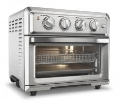 Cuisinart S All New Air Fryer Toaster Oven Is Truly One Of A Kind And Is A Healthier Way To Prepare Toaster Oven Cuisinart Toaster Oven Convection Toaster Oven