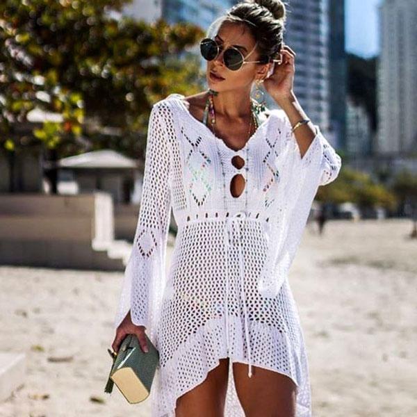 cb648698ae6 Aamiah Knitted Beach Wear #Fashion #DreamClosetCouture #Dresses