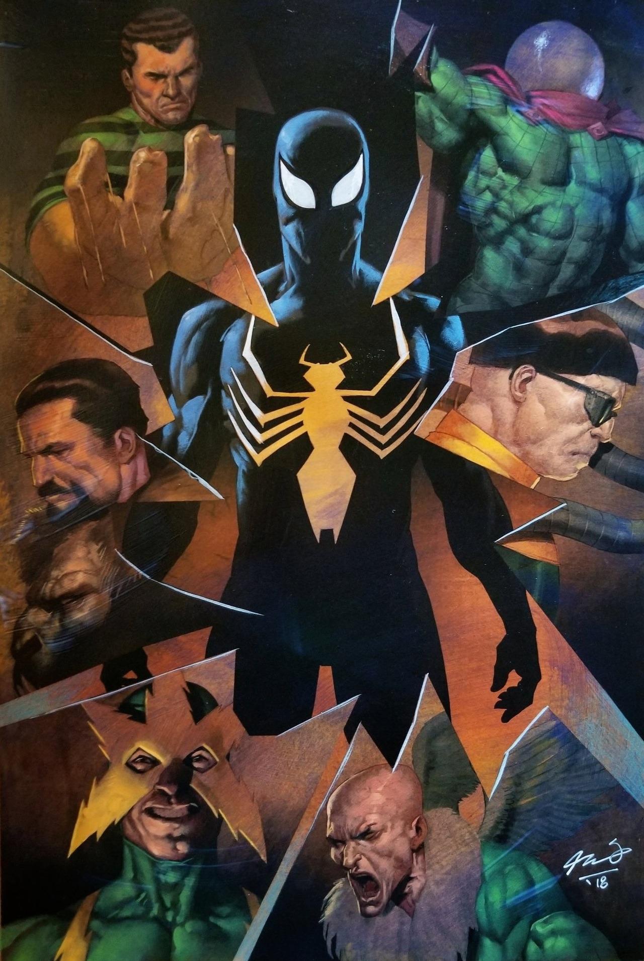 RedSkull's Page Marvel comics art, Amazing spiderman