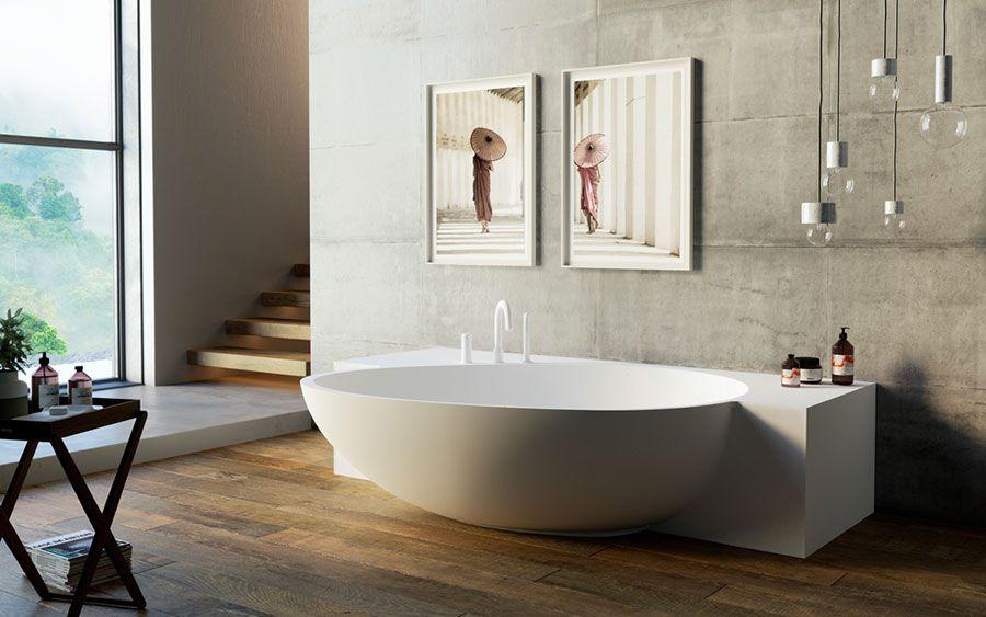 Vasca Da Bagno Di Design Moderno : 25 idee per arredare un bagno moderno con elementi di design bagni