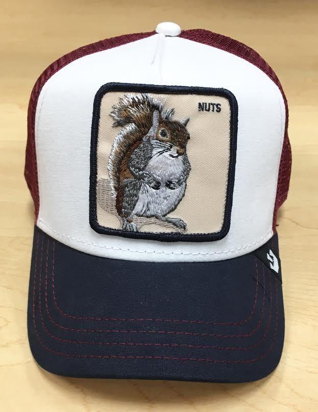 278c80fc8 Goorin Bros Bonkers Nuts White Trucker Hat | Gorras | Gorras