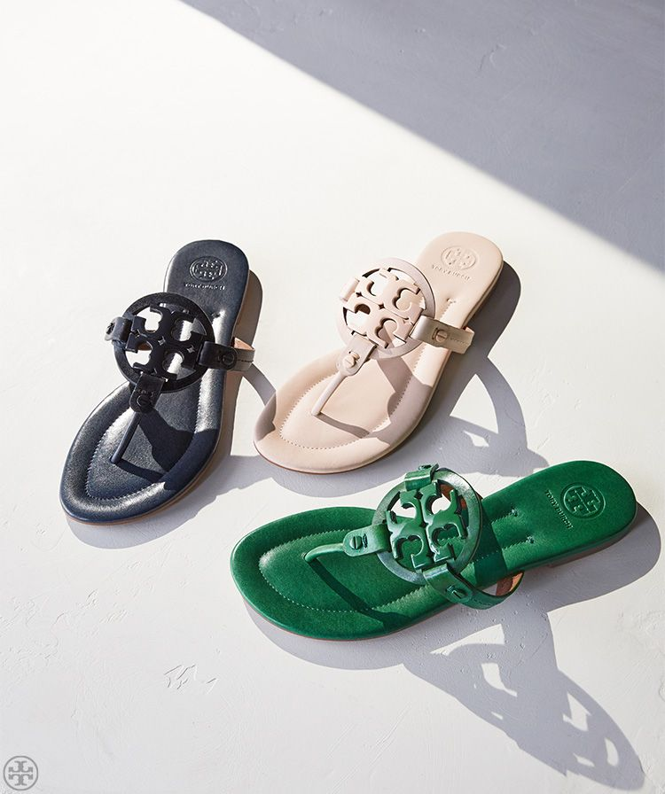 Tory Burch Miller Sandals | For Sunny Days and Getaways