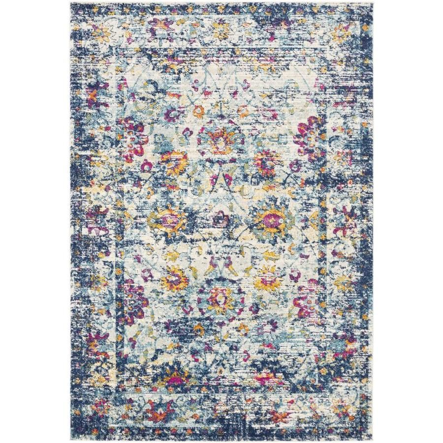 Surya Dersim 7 Ft10 In X 10 Ft3 In Updated Traditional Area Rug Blue Dsm2304 710103 2020 Traditional Area Rugs Area Throw Rugs Blue Area Rugs