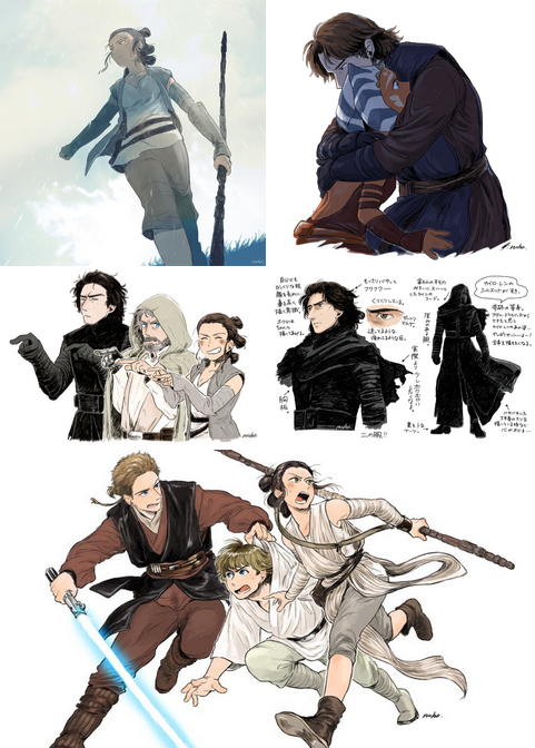 cinexphile: Star Wars Anime by NohoFrog | Star Wars | Pinterest ...