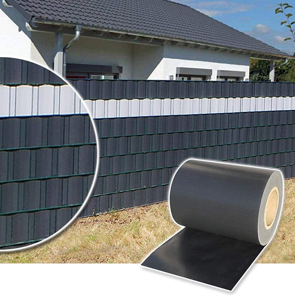 Plantiflex Sichtschutz Rolle 35m Blickdicht PVC Zaunfolie