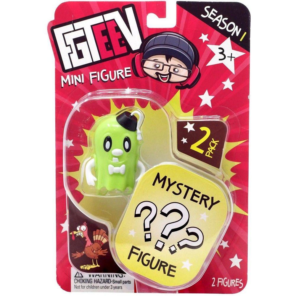 FGTeeV Season 1 GLOW SPOOKAS /& Mystery Action Mini Figure 2-Pack