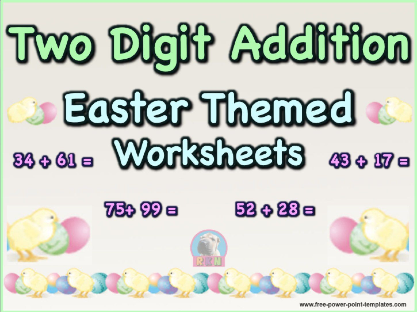 This Is A Packet Of Two Digit Addition Math Worksheets