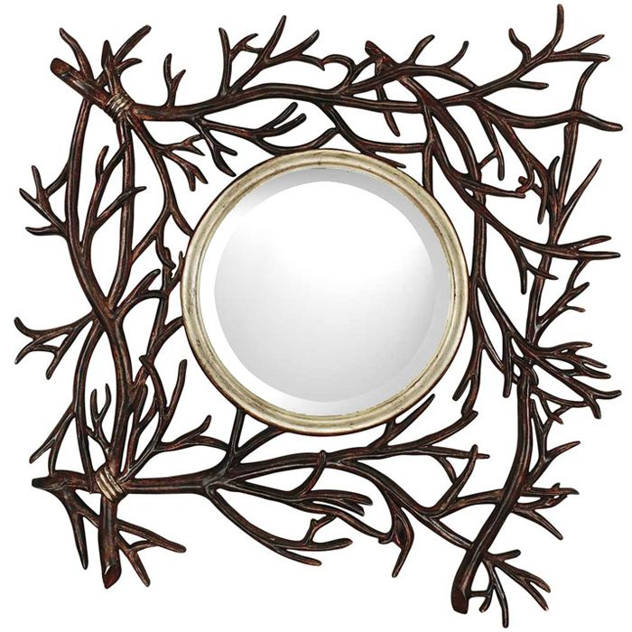 Twig Wall Mirror Use real branches! | Ideas | Pinterest | Home ...