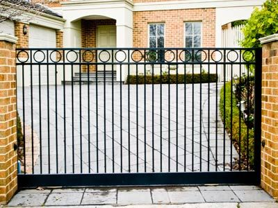 Steel Gates And Fence,wrought Iron, Metal Fencing, Melbourne.