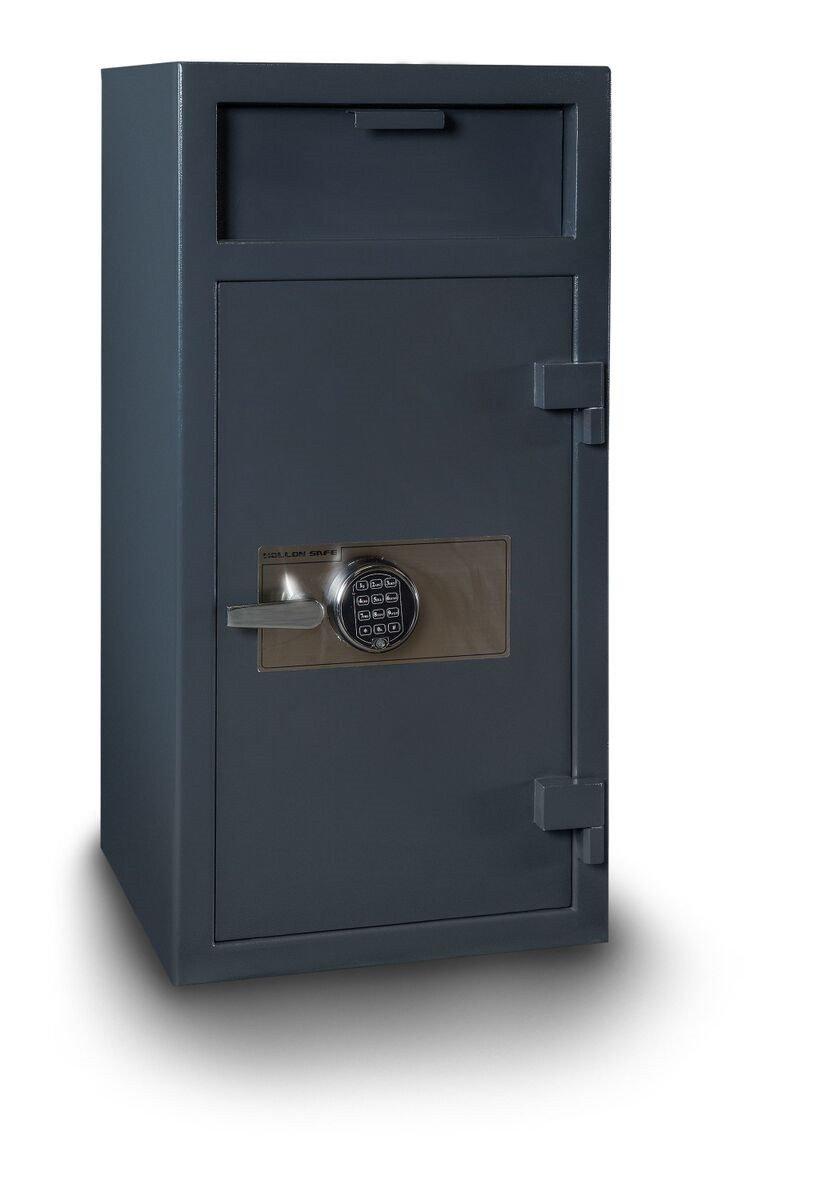 Hollon Fd 4020e Depository Safe Locker Storage Steel Doors