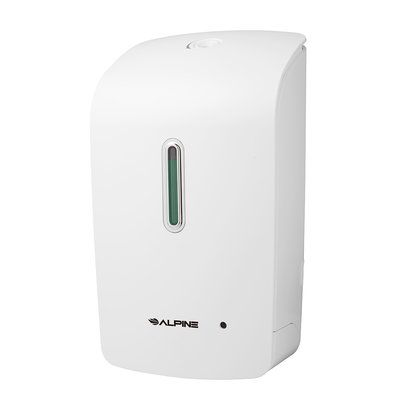 Alpine Industries Automatic Wall Mounted Liquid Soap Dispenser