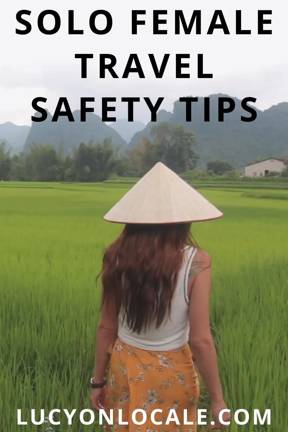 Solo travel can absolutely be safe if you have the right mindset, and if you follow these safety tips! #travel #travelblog #blog #blogger #travelblogger #destination #trip #solotravel #femaletravel #solofemaletravel #solotraveler #solofemaletraveler #femaletraveler #travelsafety #travelsafe #safetytips #traveltips #solotraveltips #solofemaletraveltips #solofemaletravelsafety #solofemaletravelsafetytips