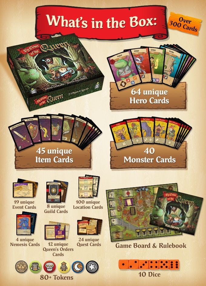 By Order Of The Queen By David Gerrard Kickstarter Game Card Design Card Games Game Night Gift