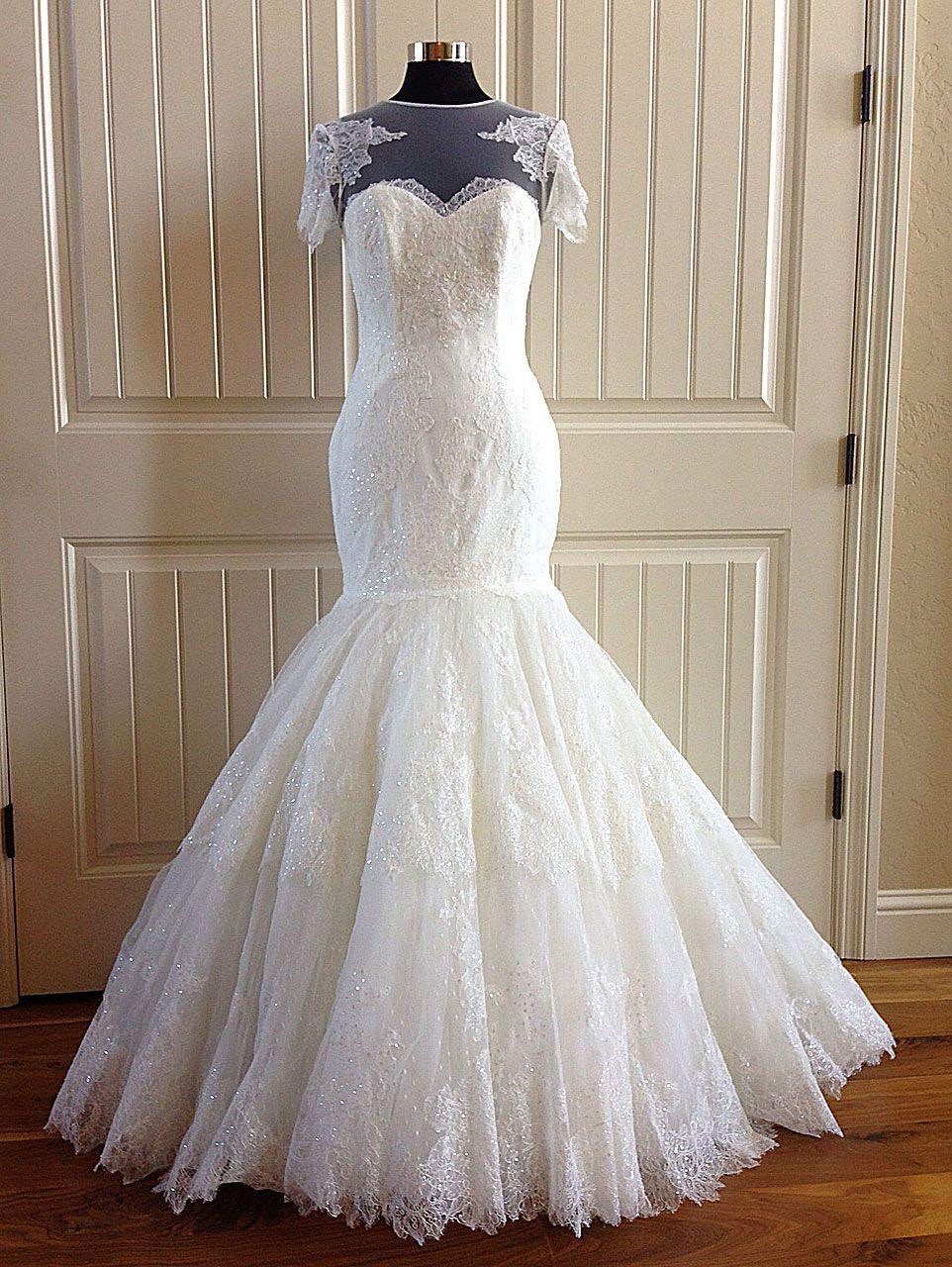 Size 8 wedding dress  Pronovias Onelia Label Size Street Size  Discount Wedding