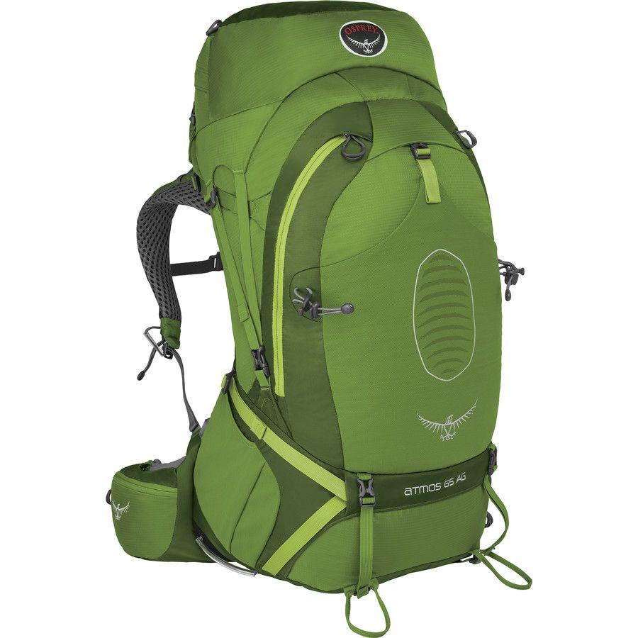 Osprey Packs Atmos Ag 65 Backpack 3783 4150in Absinthe Green Osprey Atmos Osprey Osprey Backpack