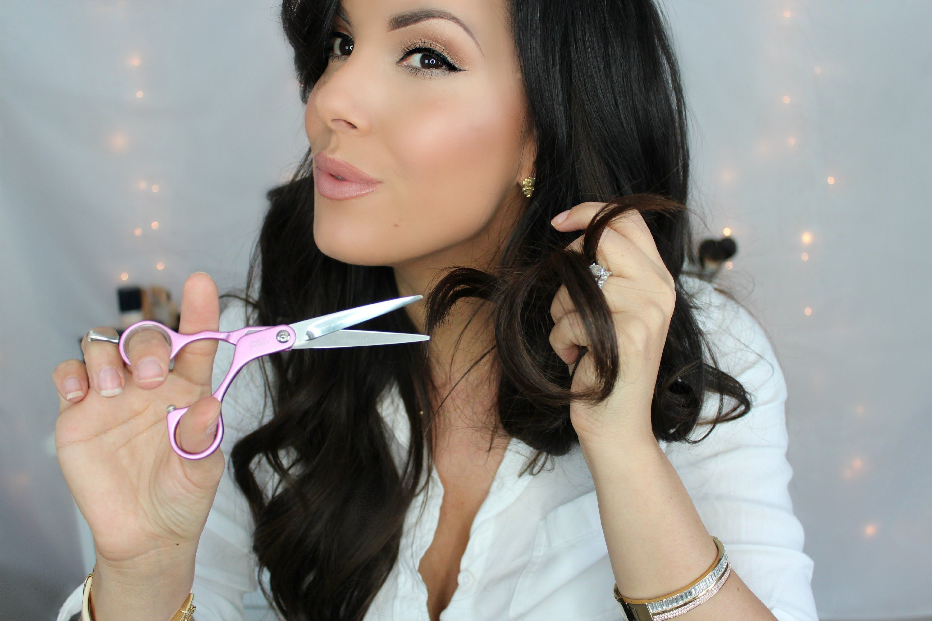Cutting Hair Extensions Diy Easy How To Cut Your Extension To Blend