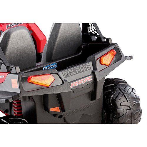 Peg Perego Polaris Ranger RZR 900 12-Volt Battery-Powered Ride-On, Red - Walmart.com - Walmart.com