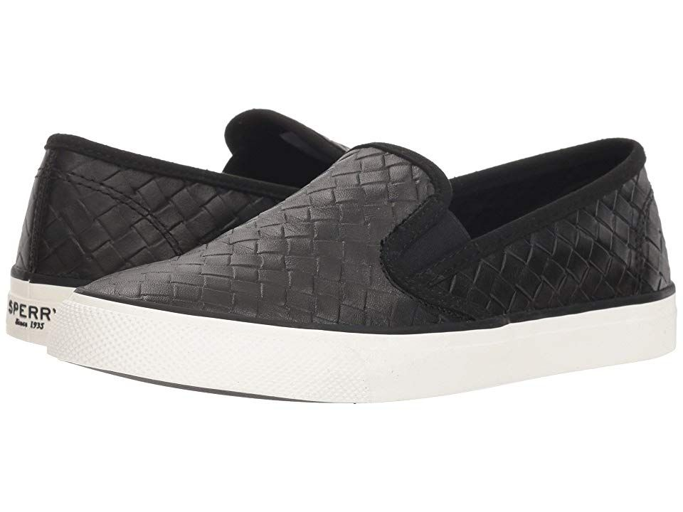 Sperry Seaside Emboss Weave (Black