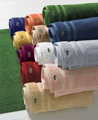 Lacoste Bathroom Bath Towels Towel Linen Cupboard