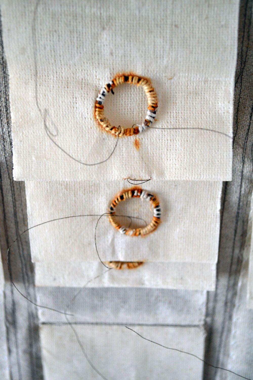 Tarpaulin Cloth .1 Detail Linen Muslin Wire Wax