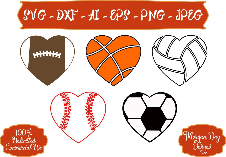 Baseball SVG Basketball SVG Softball SVG Soccer svg