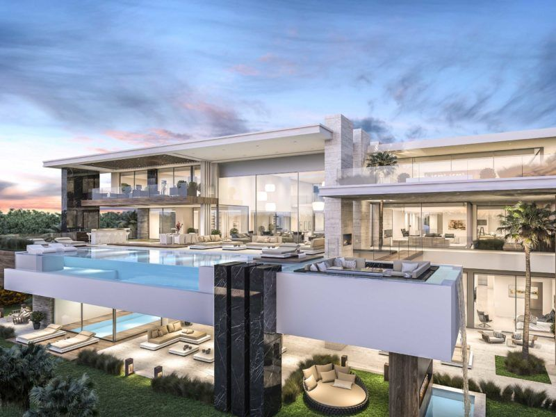 Architecture And Development Luxury Villa In California Usa