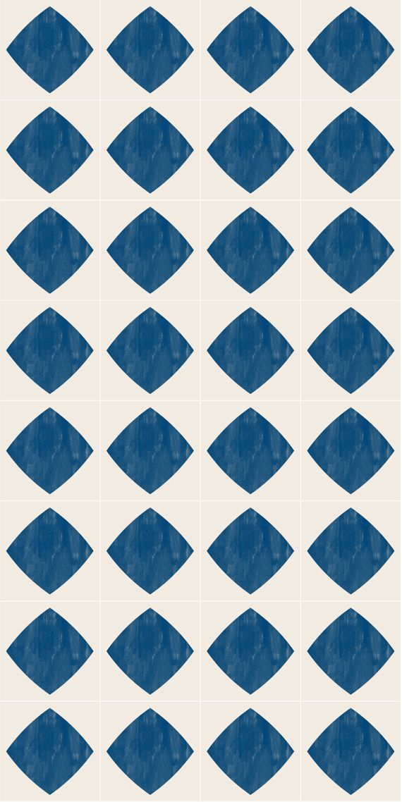 Vinyl Floor Tile Sticker Diamond Indigo Yes Our Tile Stickers