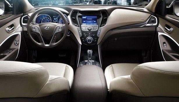 2017 Hyundai Santa Cruz Interior