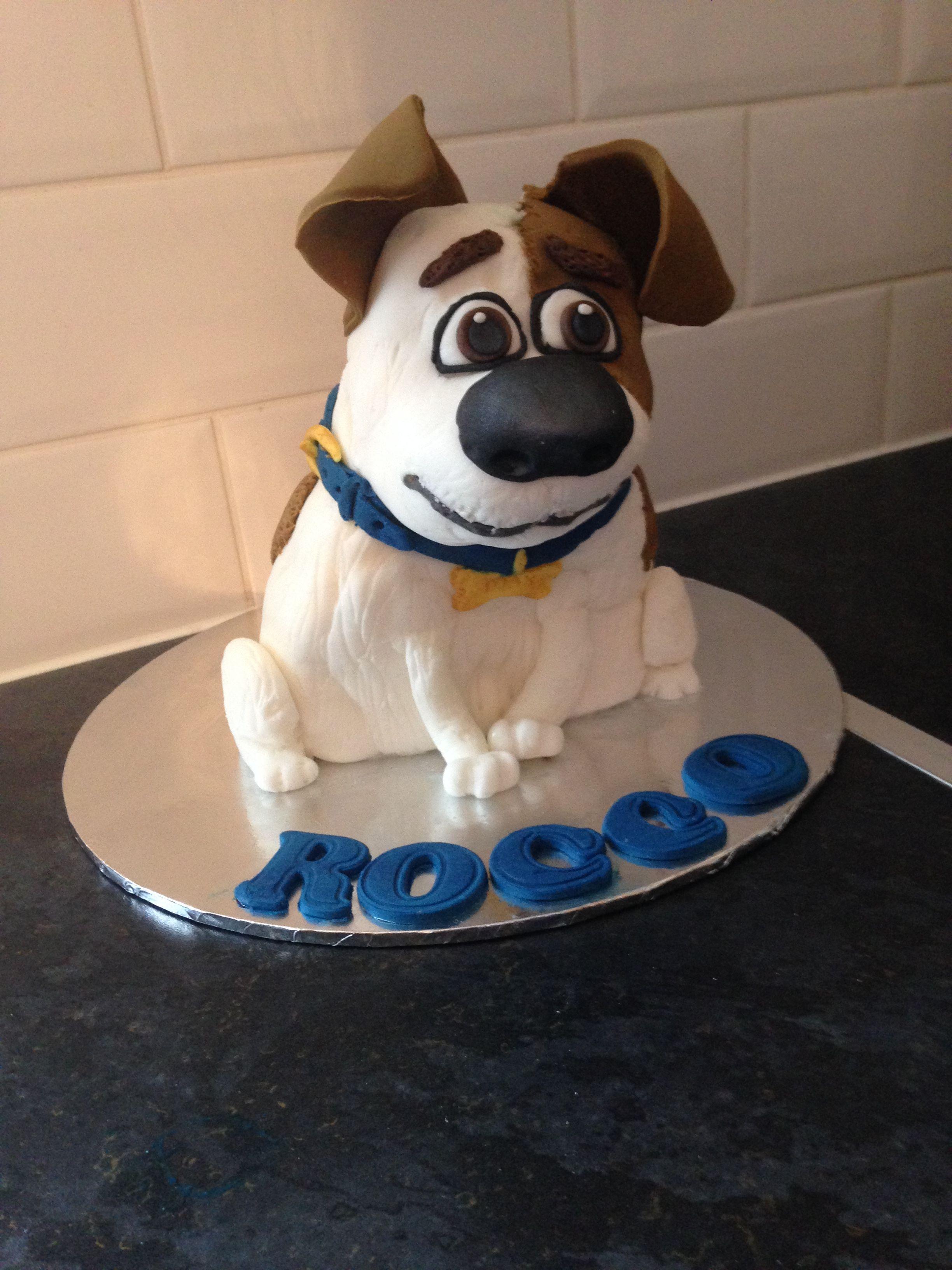 Secret Life Of Pets Max Cakes