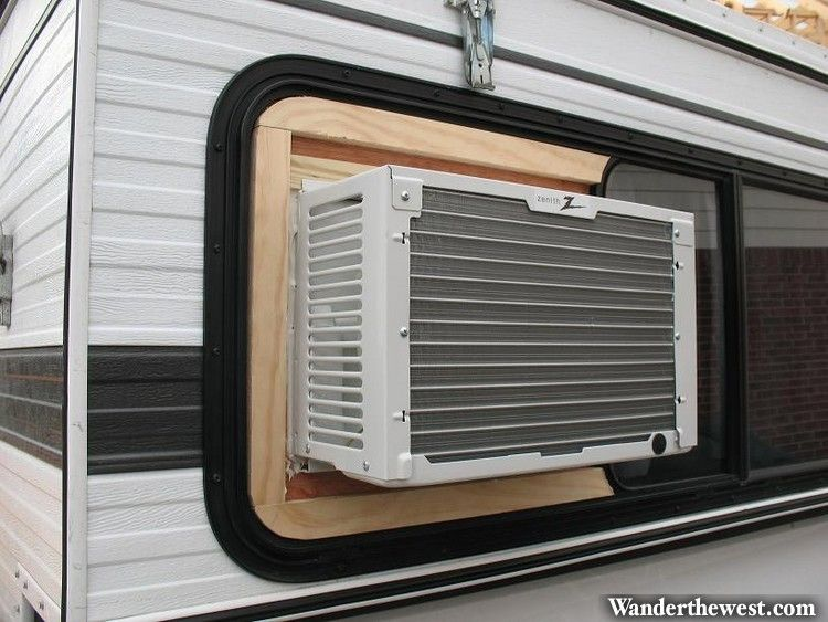 Mounting Air Conditioner In Sliding Window Just Remove