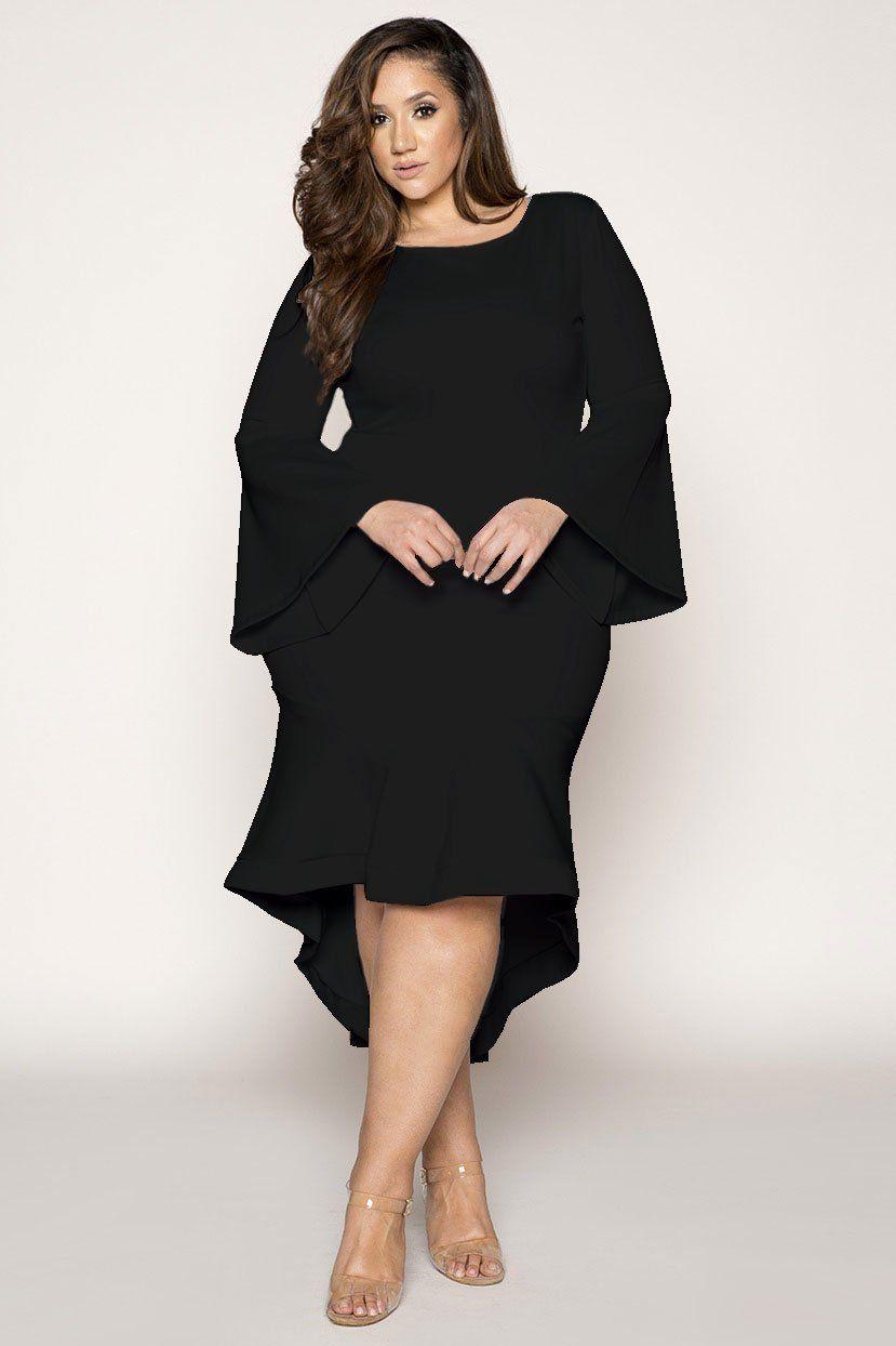 248a583c0ab Hem Detail Evening Dress. Hem Detail Evening Dress Plus Size Wedding Guest  Dresses ...