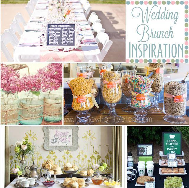 Breakfast Wedding Ideas: Wedding Brunch Inspiration In 2019