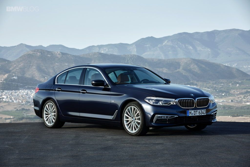 First Videos Of The New 2017 Bmw 5 Series Bmw 2017 Bmw 5 Series