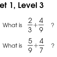 Fifty free fraction addition worksheets with a total of