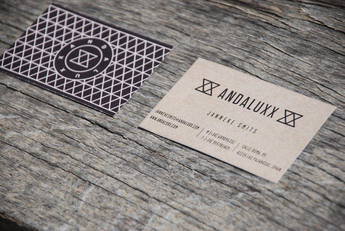 Tarjetas de visita Andaluxx