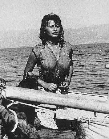 Sophia Loren La Sirena Y El Delfín 1957 From The Silver Screen