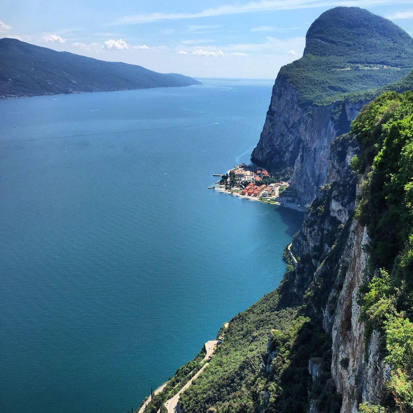 Terrazza Del Brivido Lago Di Garda E Terrazzo