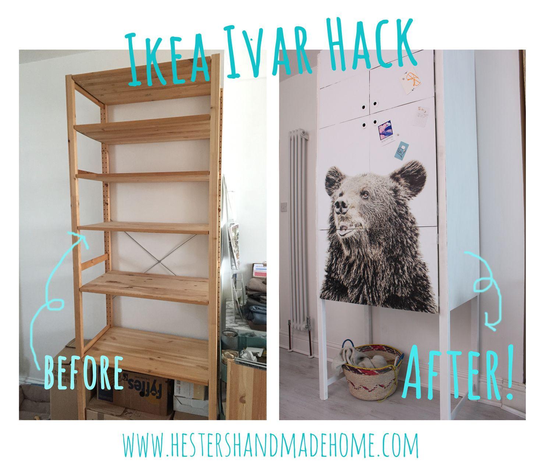 Ikea Ivar Hack Kids Hackers Regal