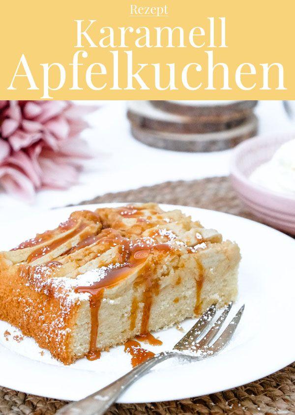 Apfel in Hochform: Deliziöser Karamell-Apfelkuchen! #bratapfeltiramisu