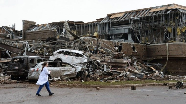 Oklahoma Tornado Kills At Least 24, Search For Survivors