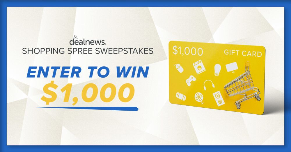 Enter daily for a chance to win 1000 in 2020 shopping
