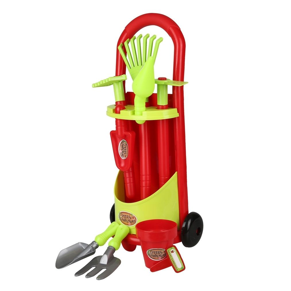 Kinder-Gartengeräte-Set, 11-teilig rot Jetzt bestellen unter: https ...