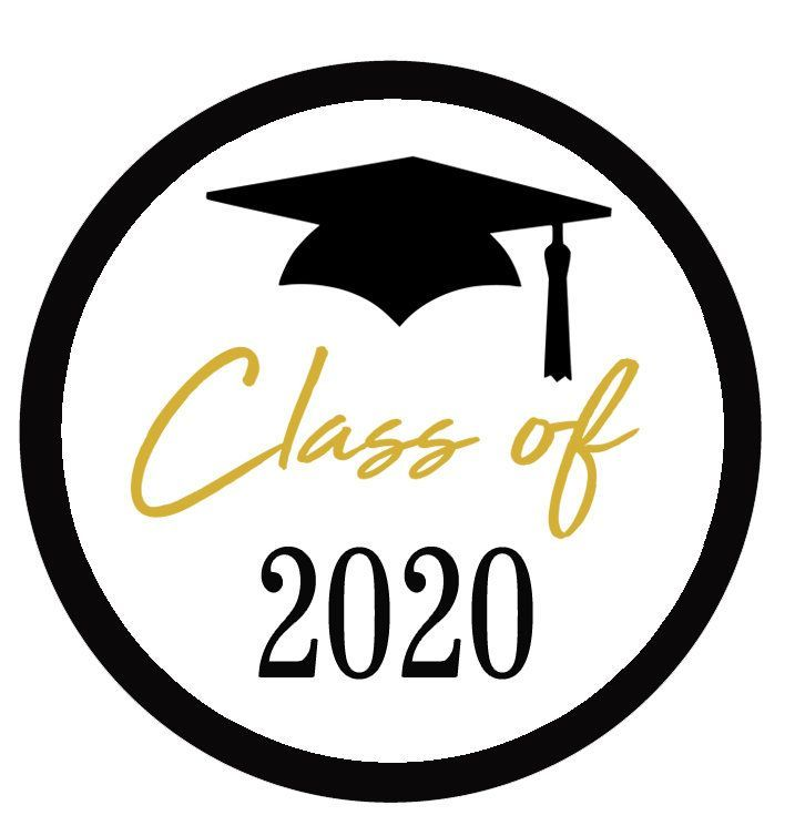 Graduation Stickers Class of 2020 Graduation Party Favor | Etsy in 2020 |  Graduation stickers, Congratulations graduate, Graduation favors