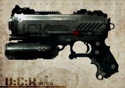 Concept Heart: Speed paint guns - Axel Torvenius