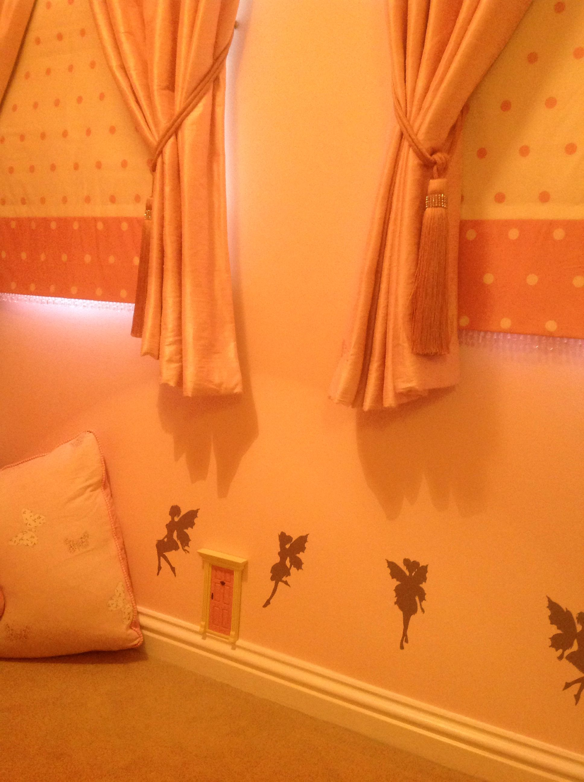 Nutmeg Wall Stickers And Sophie Sews Cushions Blinds And Curtains